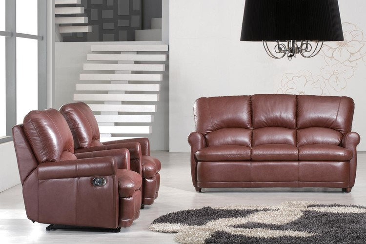 Bradley Manual Recliner Leather