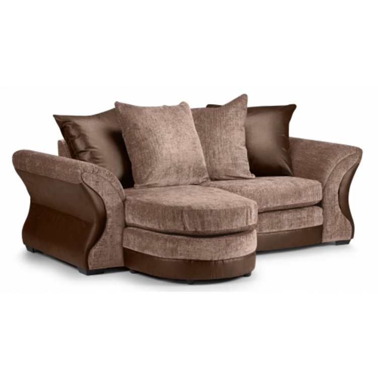 Clio left hand chaise for Bartlett caramel left corner chaise sectional