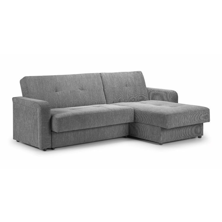 Small Corner Sofa No Arms: Destiny Fabric Corner Sofa Bed