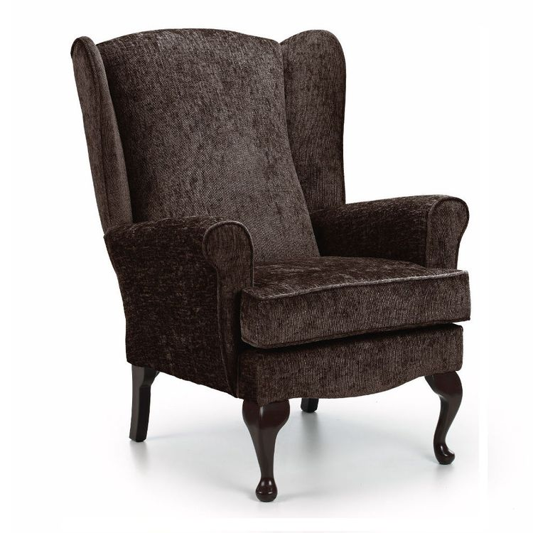 Kate Wingback Chair Fabric Chair