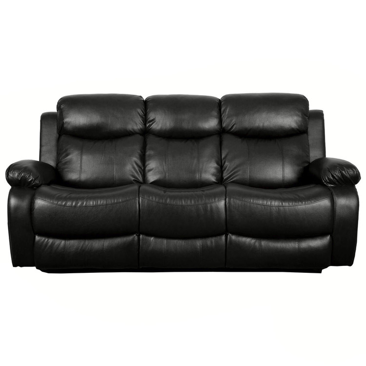 Surprising De Nero Heated Reclining And Massage 3 Seater Sofa Unemploymentrelief Wooden Chair Designs For Living Room Unemploymentrelieforg