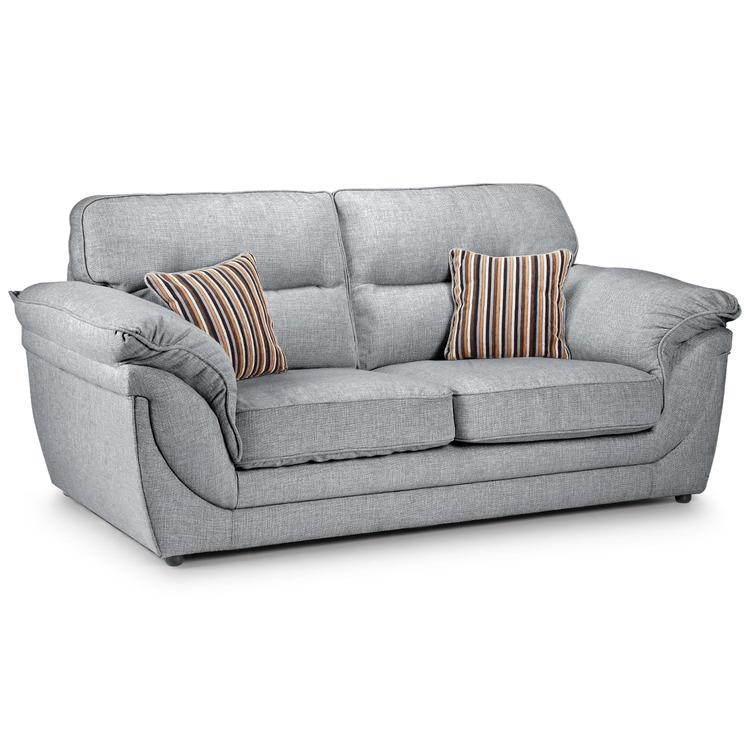 Curve Fabric 2 Seater Sofa