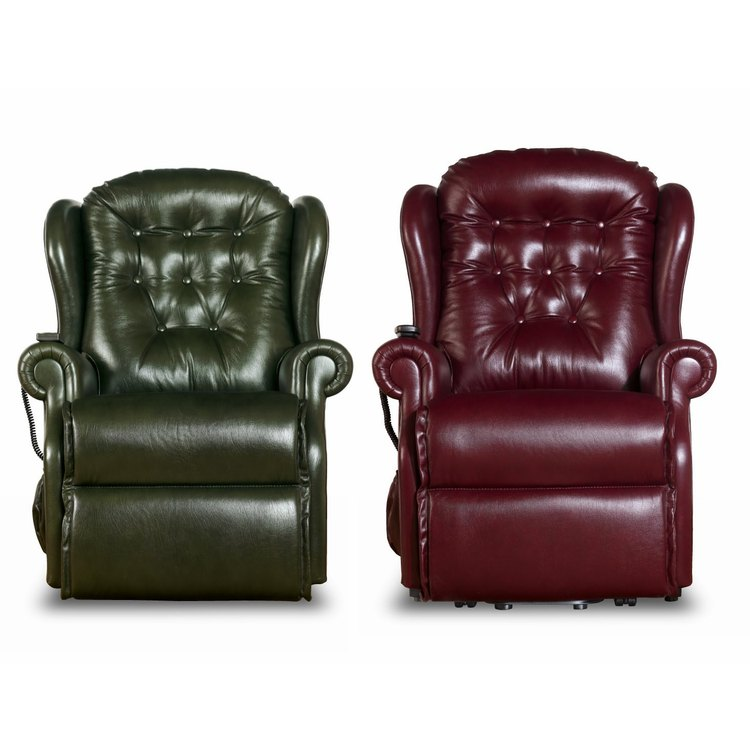 Lynton Leather Electric Recliner Chair