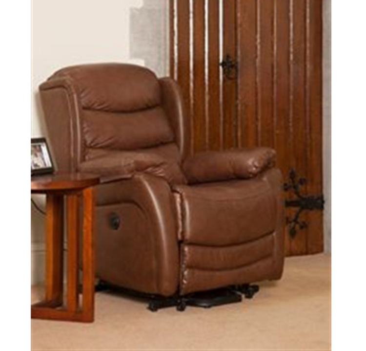 Elano Leather Reclining Chair