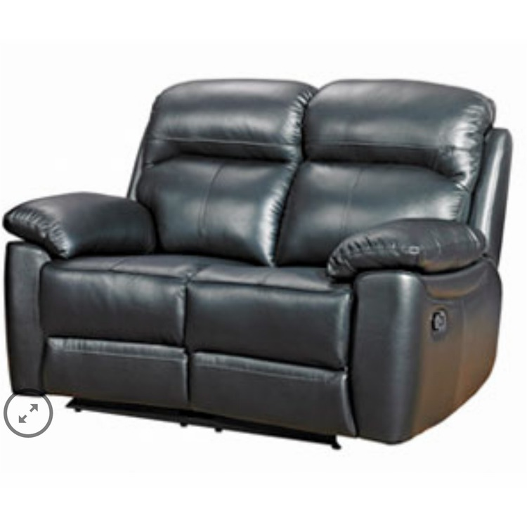 Ascot Leather Recliner Sofa 2 Seater