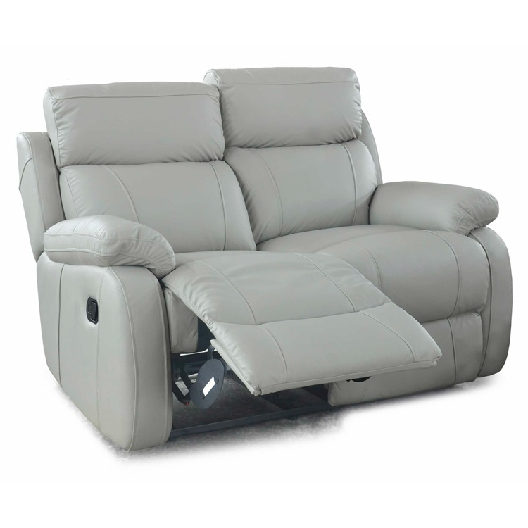 Pearl Leather Recliner 2 Seater Sofa