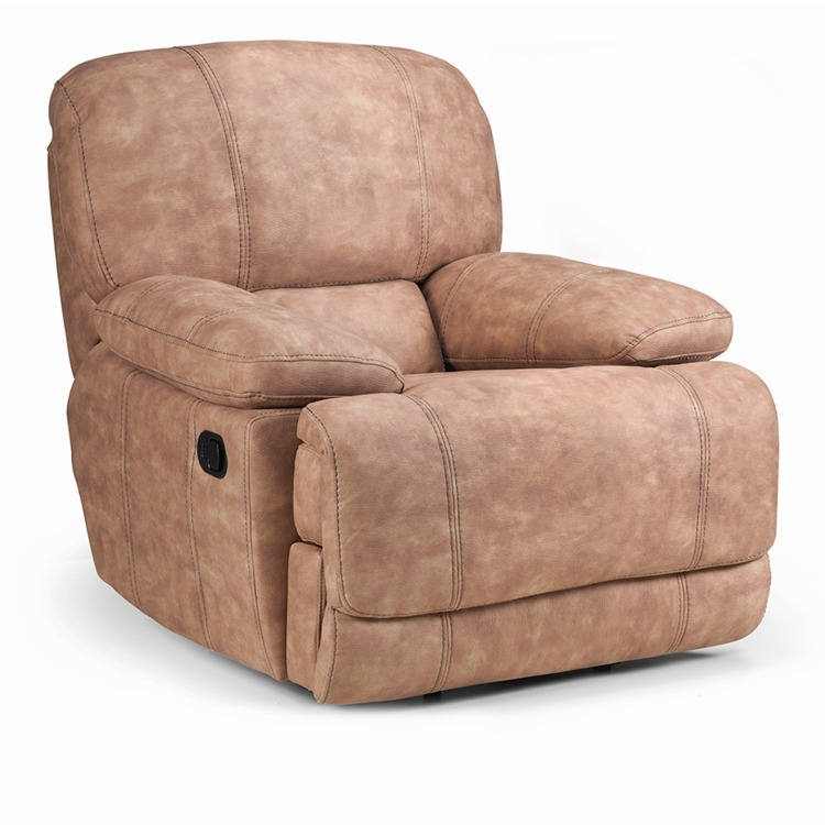 bodie suede recliner chair