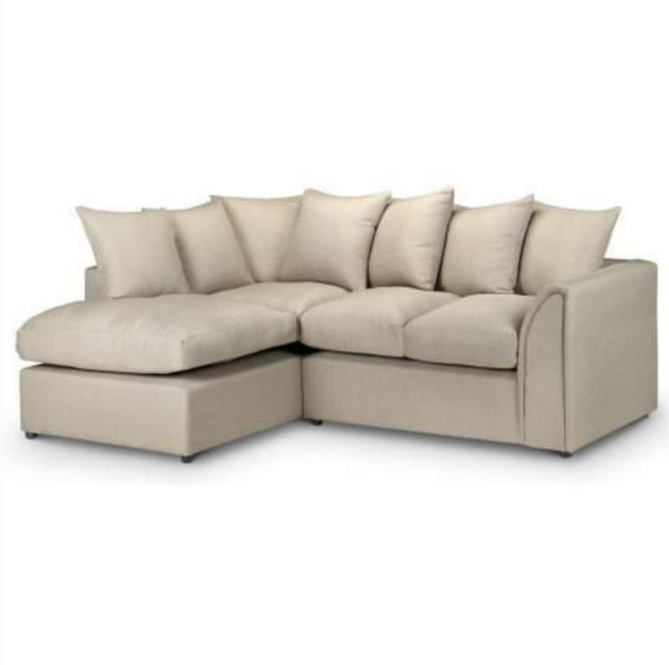 Callum Left Hand Fabric Corner Sofa