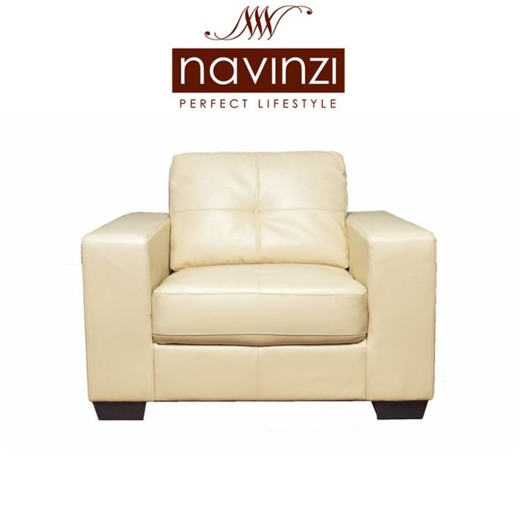 Gema Leather Arm Chair Clearance