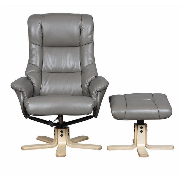 Atlantic Leather Recliner Swivel Chair