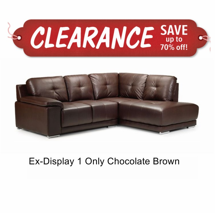 Remarkable Denver Leather Corner Sofa Clearance Theyellowbook Wood Chair Design Ideas Theyellowbookinfo