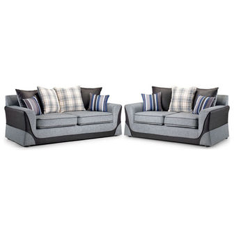 Seater and 2 Seater Sofas Casa Package Deal