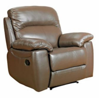 ascot recliner leather chair
