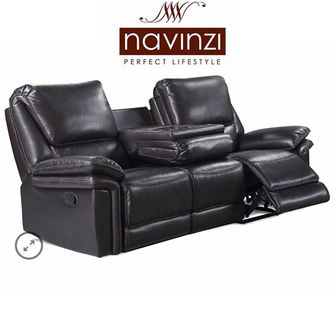 Apollo 3 seater recliner with fold down table