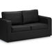 maxi sofa bed black