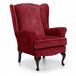 Alice Fabric Wing Chair